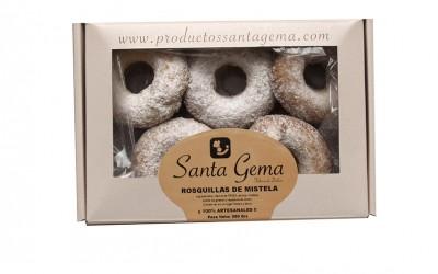 Estuche rosquillas de mistela - Productos Santa Gema