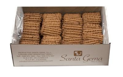 Galletas rizadas caseras integrales granel