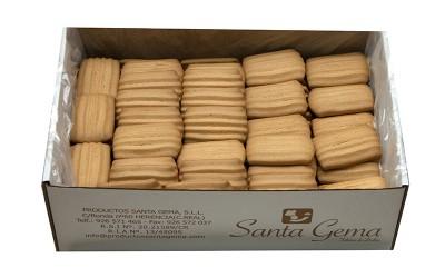 Galletas rizadas caseras sin azúcar granel