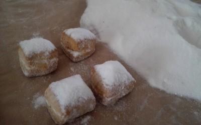 Mantecados blancos casi terminados - Productos Santa Gema