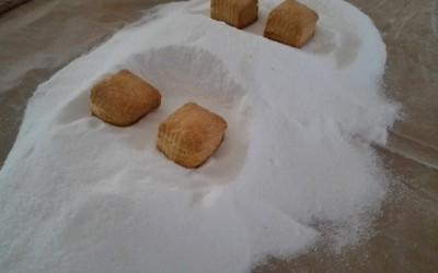 Mantecados blancos listos para poner azucar - Productos Santa Gema