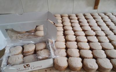 Mantecados morenos estuches y granel - Productos Santa Gema