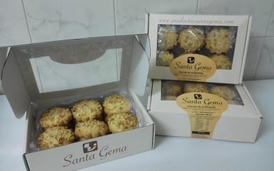 Pastas de almendra - Productos Santa Gema