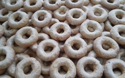 Rosquillas de mistela artesanales recien hechas - Productos Santa Gema