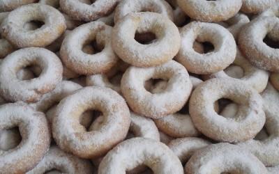 Rosquillas de mistela recien hechas - Productos Santa Gema