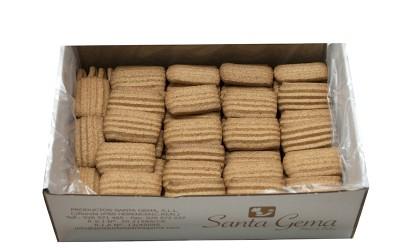 Galletas rizadas caseras integrales sin azúcar granel