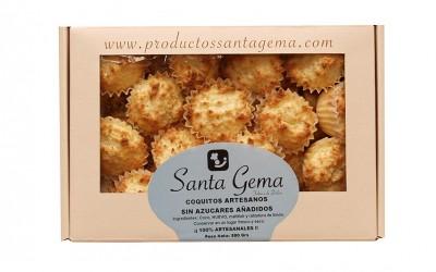 Estuche coquitos artesanos sin azúcar - Productos Santa Gema